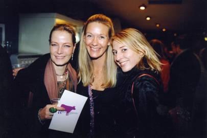 Didi Isle, Emma Gibbs and Lady Kathryn Brudenell-Bruce