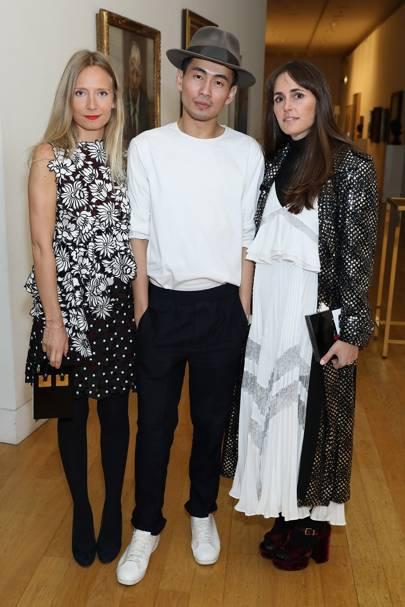 Martha Ward, Han Chong and Tania Fares