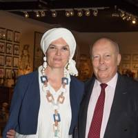 Emma Kitchener-Fellowes and Lord Fellowes