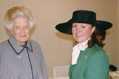 The Dowager Lady Mancroft and the Hon Mrs Charlotte Mancroft