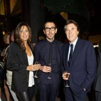 Amanda Ferry, Alessandro Sartori and Bryan Ferry