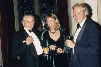 Jack Gore, Mrs Richard Bethell and the Hon Richard Bethell
