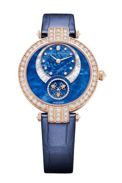 Harry Winston Premier Diamond Second Automatic 36mm watch