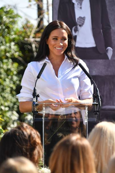 The Duchess of Sussex's charitable clothing collection launches today