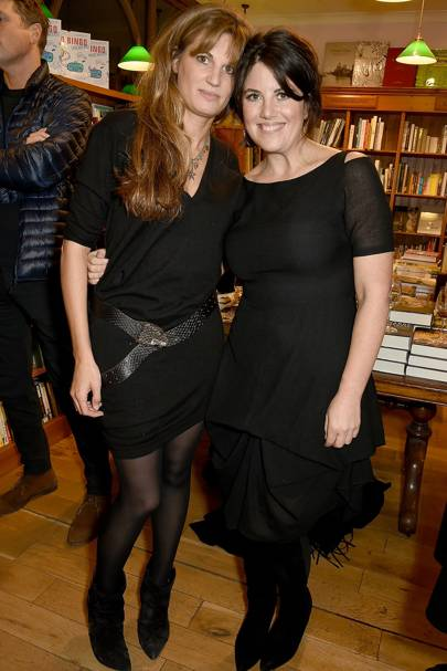 Jemima Goldsmith and Monica Lewinsky