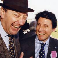 John Greenway and Sebastian Coe