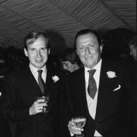 Baron Heini Thyssen-Bornemisza and Baron Heini Thyssen-Bornemisza (the groom)
