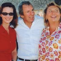 Melissa Knatchbull, Hugo Rittson-Thomas and Isobel, Countess of Strathmore