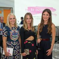 Cressida Bonas, Emily Few Brown and Julia De Boinville