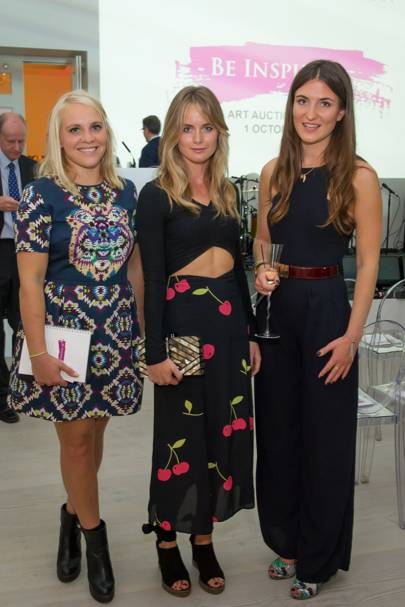 Cressida Bonas, Emily Few Brown and Julia De Boinville