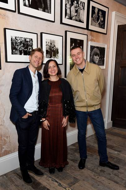 Christopher Bailey, Lucy Kumara-Moore and Alasdair McLellan