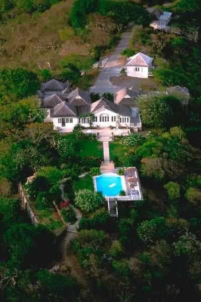 Princess Margaret S Home In Mustique