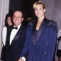 Francesco Scavullo and Kim Alexis