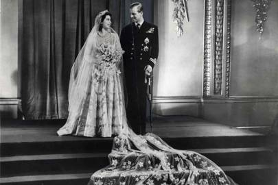 Princess Elizabeth's marriage to Philip Mountbatten, 1947