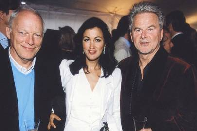 David Gilmour, Mrs David Gilmour and Trevor Eve