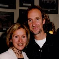 Mrs Andrew Haynes and Mike Rutherford