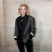 Cate Blanchett at the Louis Vuitton show.