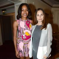 Naomie Harris and Anna Luab