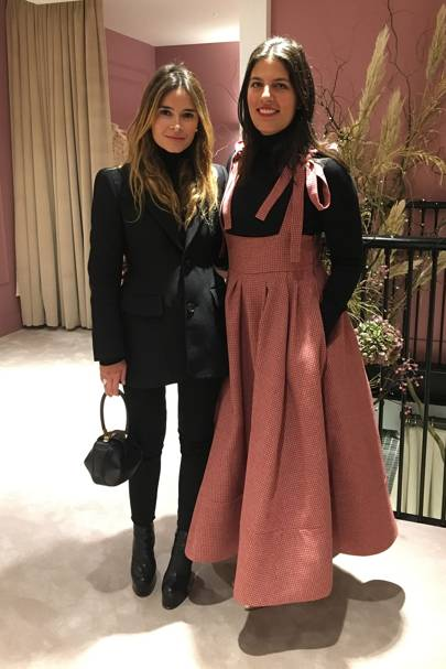 Miroslava Duma and Rosie Assoulin