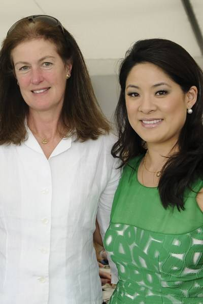 Lady Henrietta Spencer-Churchill and Sabina Fung