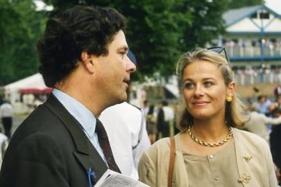 Count Konrad Goess-Saurau and Susie Farquhar
