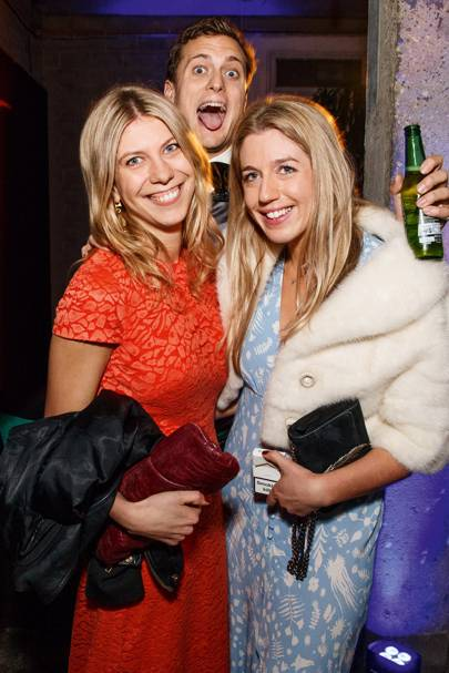 Isabella Worsley, Charlie Hargreaves and Tatiana Denehy