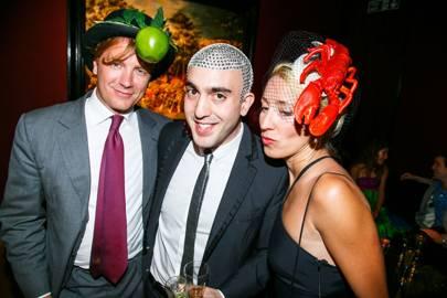 Prince Valerio Massimo, Philip Levine and Princess Valerio Massimo