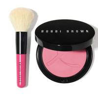 Bobbi Brown Pink Peony iIlluminating bronzing powder set