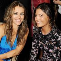 Elizabeth Hurley and Amanda Ferry