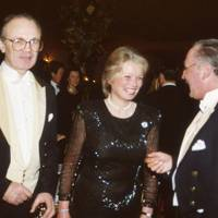 Anthony Brassey, Mrs Anthony Brassey and Captain Ian Farquhar