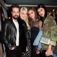 Jack Guinness, Amber Le Bon, Taylor Hill and Neelam Gill