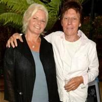 Sandra Cash and Jeff Beck