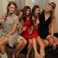 Maria Gulyaeva, Anastasiya Yakunina, Taisia Deeva, Lenka Chubukliyeva and Ekaterina Averyanova