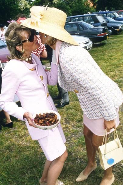 Katy Lady Dashwood and Fiona Sleeman