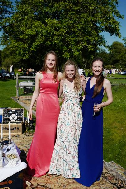 Georgina Wright, Lucy Briggs and Florence Cracroft-Eley