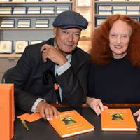 Michael Roberts and Grace Coddington