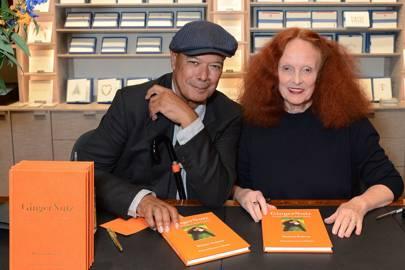 Michael Roberts and Grace Coddington