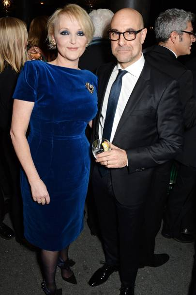 Miranda Richardson and Stanley Tucci