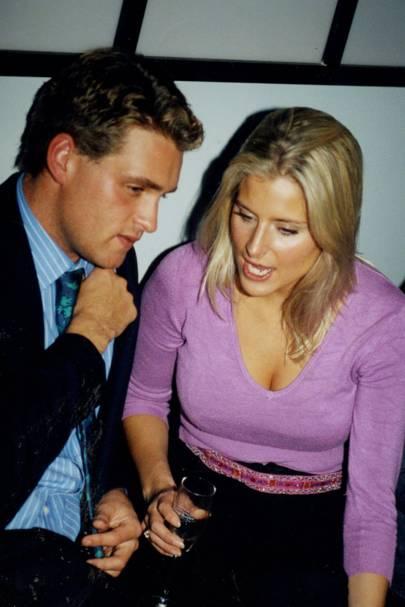 Adam Dorrien-Smith and Natalie Hicks-Lobbecke