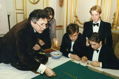 Tim Hart, Sarah Troughton, George Hunt, Henry Haines and Edward Hammond