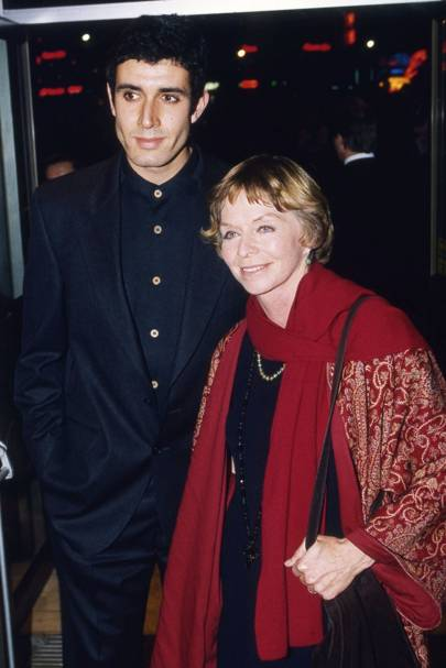 Dr Karim Stavron and Susannah York