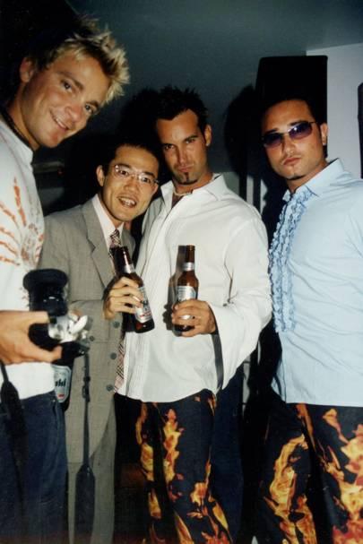 Jasper Conner, Motohiro Suzuki, Ian Mundt and Terii Bazley