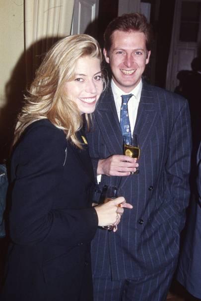 Tara Riceberg and the Hon Nicholas Penny