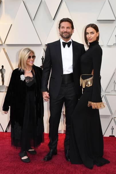 Gloria Campano, Bradley Cooper and Irina Shayk