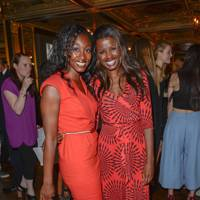 Beverley Knight and June Sarpong