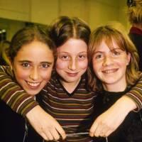 Natalie de Clermont, Sophia Akroyd and Chloe Delevingne