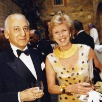 Ravi Tikoo and Mrs Neil Balfour