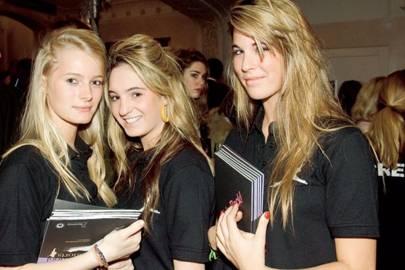 Lara Macpherson, Poppy Regan and Eliza Caminada