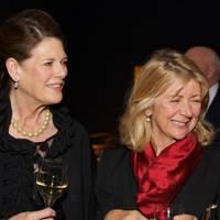 Francesca Schwarzenbach and Lady Marcia George