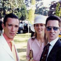 Frankie Dettori, Mrs Frankie Dettori and Richard Hills